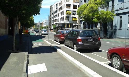 Wellington Street bike lanes 2