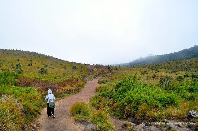 Hiking at Horton Plains National Park Sri Lanka