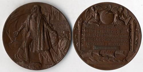 1893 World's Columbian Exposition Medal DUNKELD ESTATE