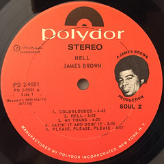 JAMES BROWN:HELL(LABEL SIDE-A)