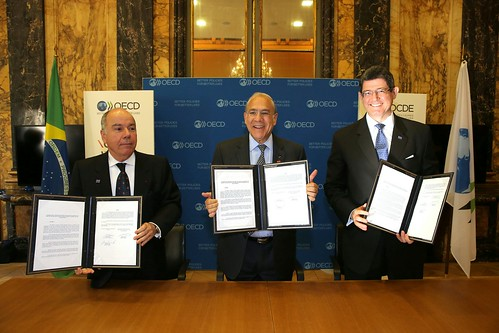 Signing of cooperation agreement between the OECD and Brazil