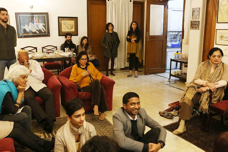 City Moment – Music, Food and Friends at Author Sadia Dehlvi's Drawing Room, H. Nizamuddin East
