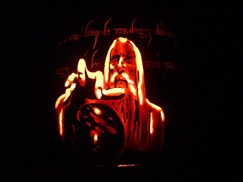 Pumpkin Saruman Carving 2004 | by Red Wing Fan Mike