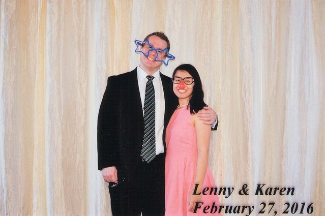 Lenny and Karen's Wedding Photo Booth | shirley shirley bo birley Blog