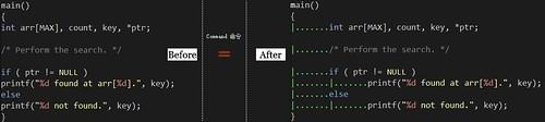 Indent_SampleCode