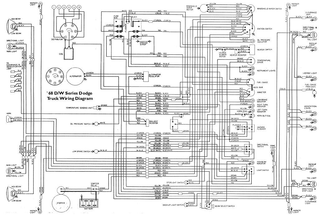 1975 dodge truck wiring diagrams 1951 dodge truck wiring diagrams heater schematic - sweptline.org