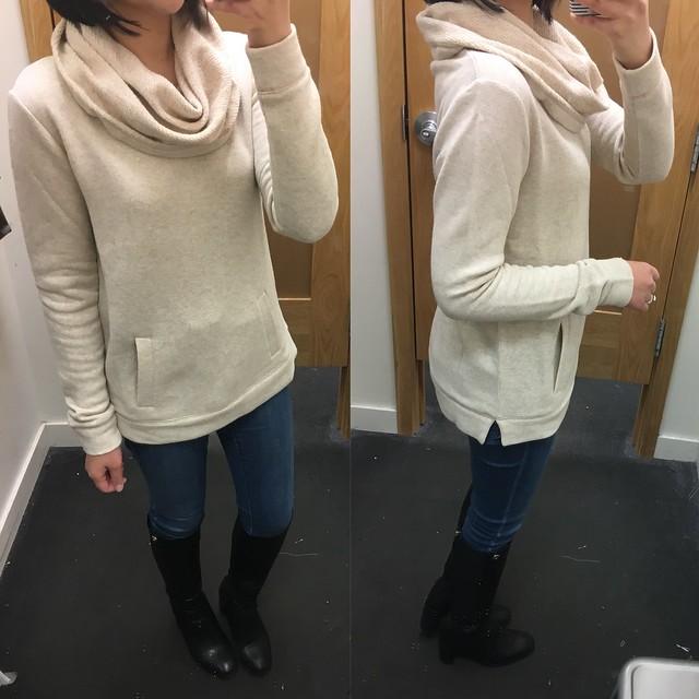 J.Crew Factory Funnelneck Sweatshirt, size XS regular