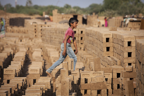 Growing up in the brick kiln