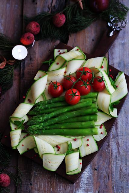 salada para ceia de natal