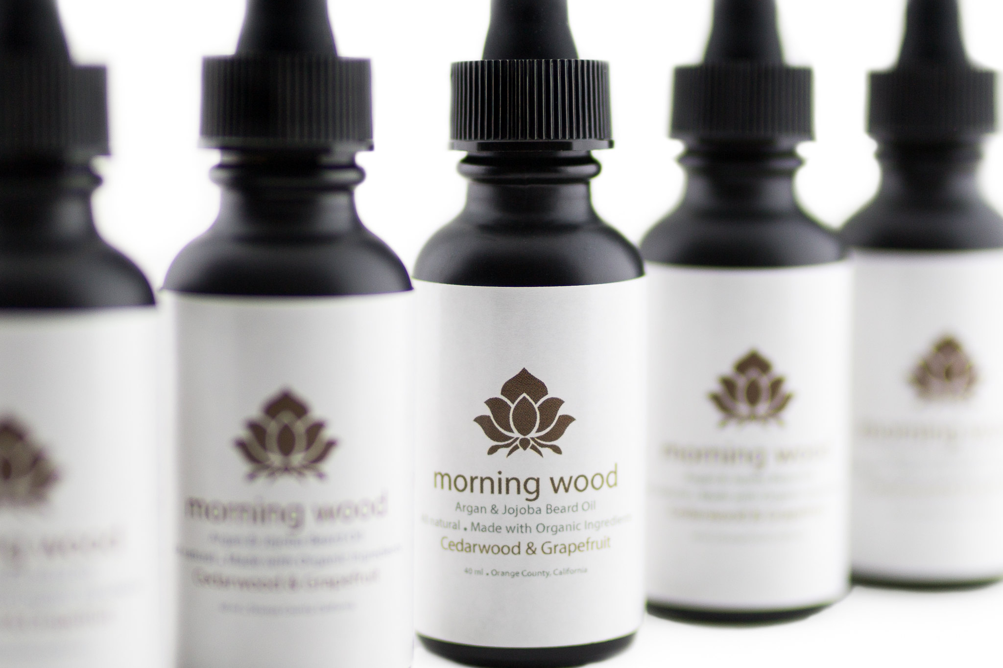 Morning Wood Organic Beard Oil