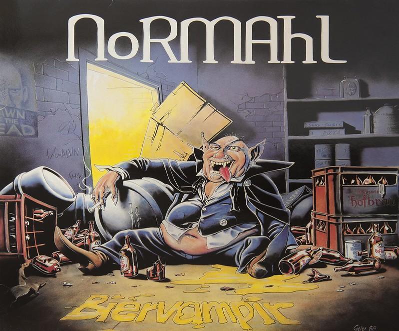 "NORMAHL BIERVAMPIR A-M MUSIC SNAKE 12"" MAXI-SINGLE VINYL"