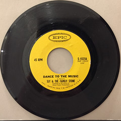 SLY & THE FAMILY STONE:DANCE TO THE MUSIC(RECORD SIDE-A)