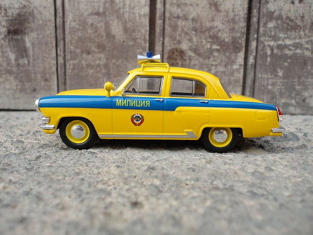 Gaz 21R Volga Policia de Transito 1/43 (IST Models)