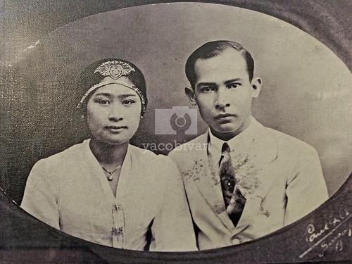 M.H. Thamrin dan Istri