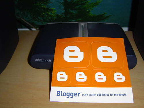 Google's Blogger Sticker | by > ange <