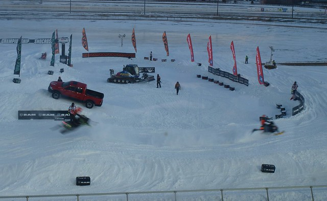 Snocross at Canterbury Park