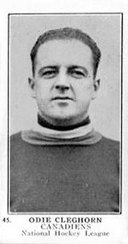 Odie Cleghorn Canadiens