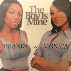 BRANDY & MONICA:THE BOY IS MINE(JACKET A)