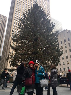 Me and my Mom at the Rockerfeller tree