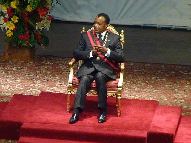 Cérémonie d'investiture de Denis Sassou Nguesso