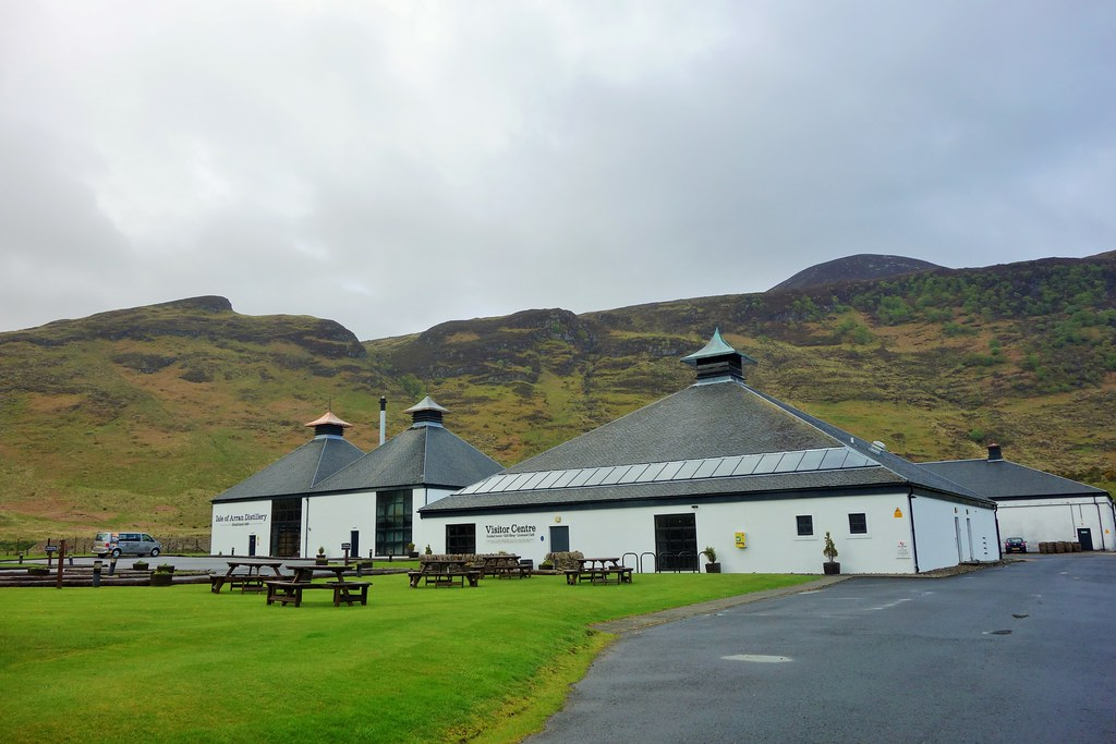 Isle of Arran Distillery, Lochranza, Arran
