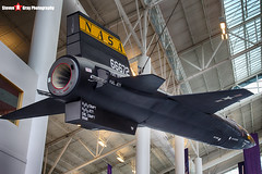 56-6672 3 - - NASA - North American X-15 Replica - Evergreen Air and Space Museum - McMinnville, Oregon - 131026 - Steven Gray - IMG_9234_HDR
