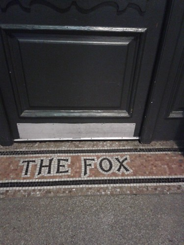 The Fox Entranceway Mosaic Near Islington Green