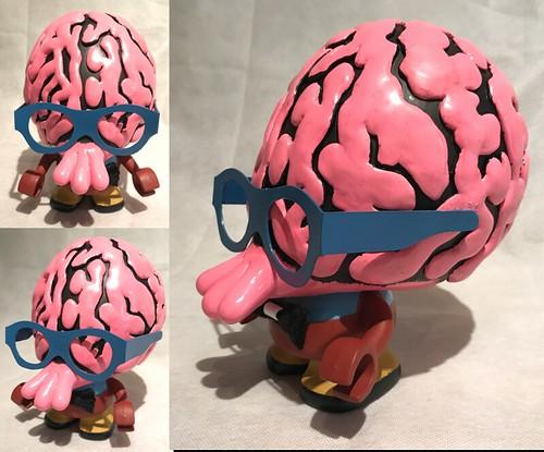 Alex Vaughan Brains - John Kovalic custom