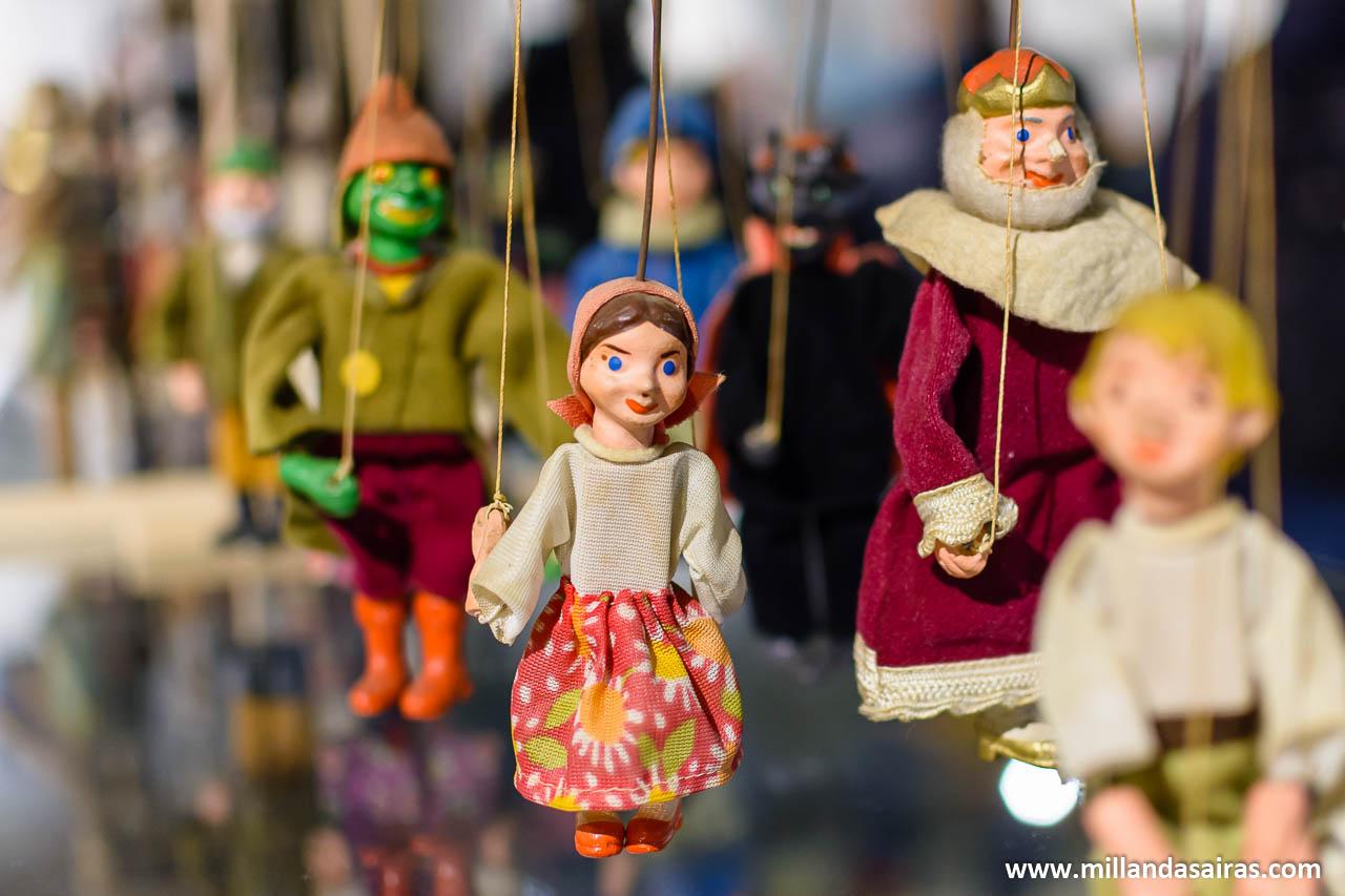 Museo de la marioneta en el Pazo de Liñares