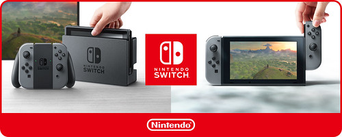 Nintendo Switch: Características y Trailer