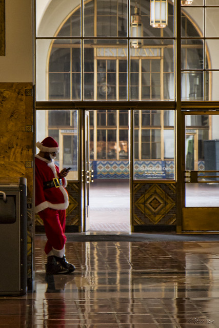 Union Station Santa