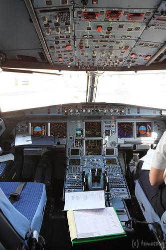 A318 cockpit