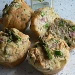 Spargel-Schinken-Muffins