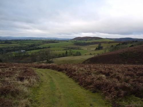 Looking South from Hope Bowdler