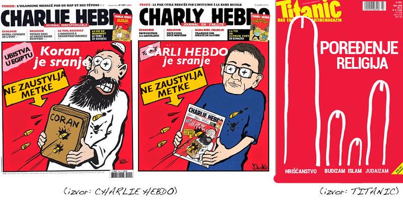 Charly Hebdo i religija