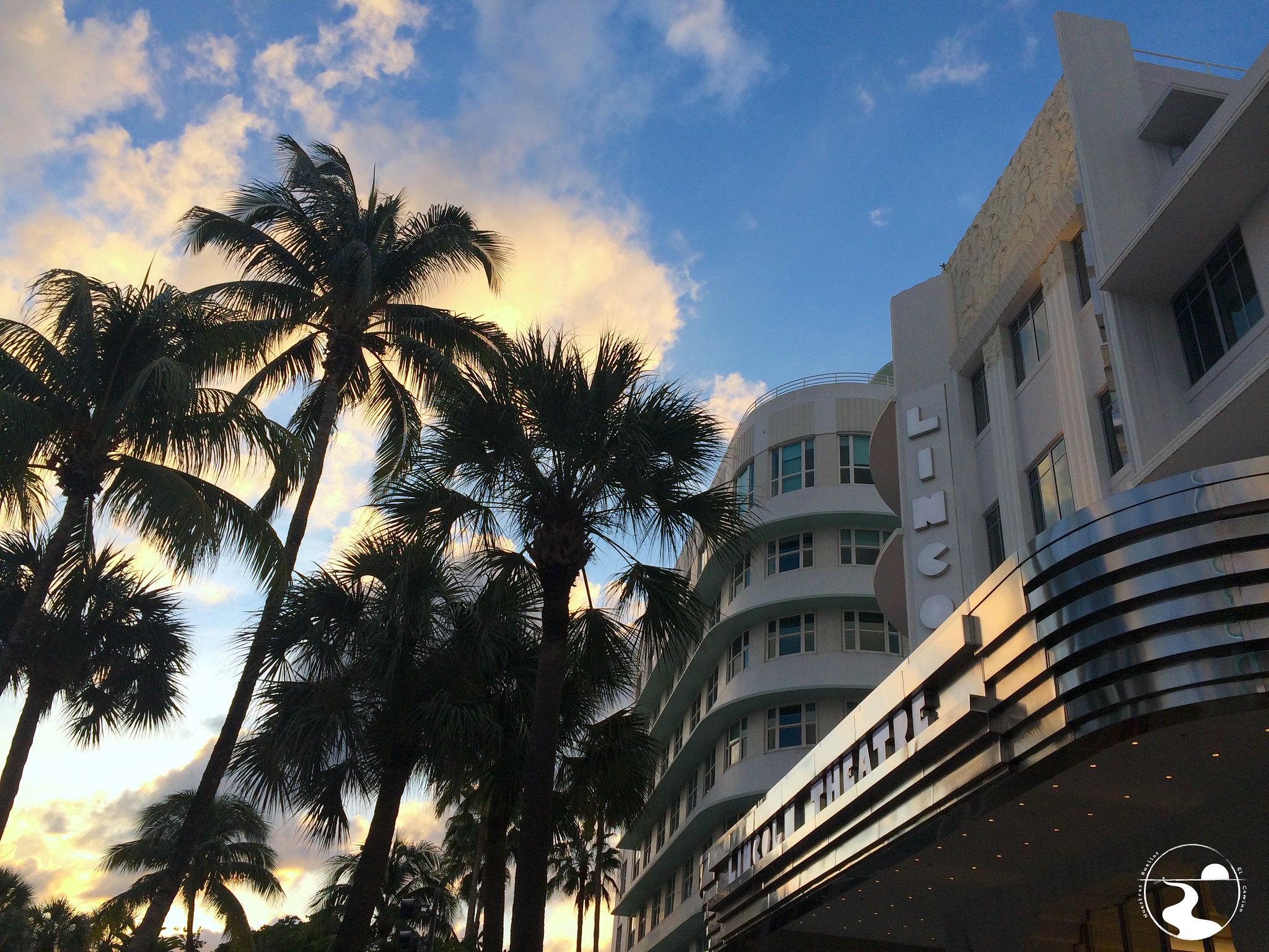 Atardecer en Miami Beach