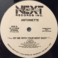 ANTOINETTE:WHO'S THE BOSS(LABEL SIDE-B)