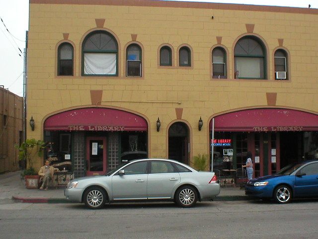 The Library and The 2006 Mercury Montego
