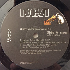 GICHY DAN'S BEACHWOOD #9:GICHY DAN'S BEACHWOOD #9(LABEL SIDE-A)