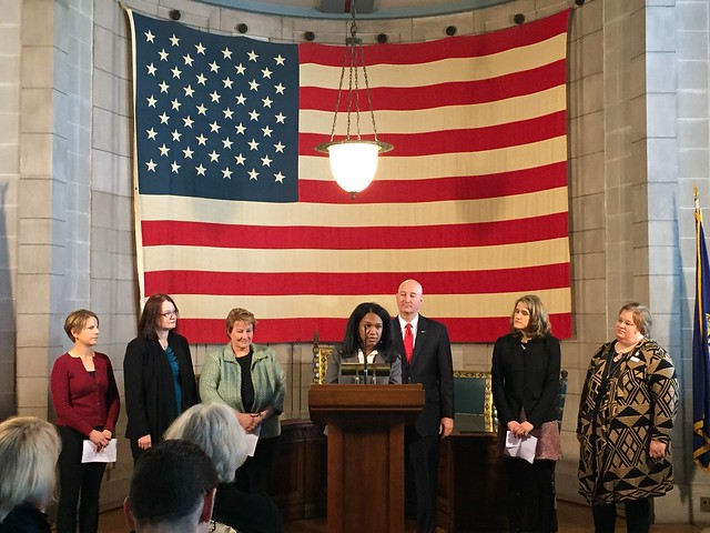 Gov. Ricketts, Health and Human Services Unveil WIC Journey - 12/19/2017
