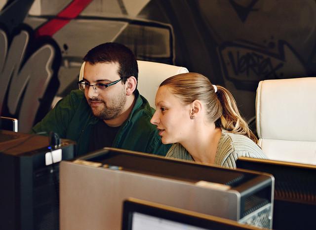 Snezhina Mateva and Boris Zhivkov visualizing Emprasa
