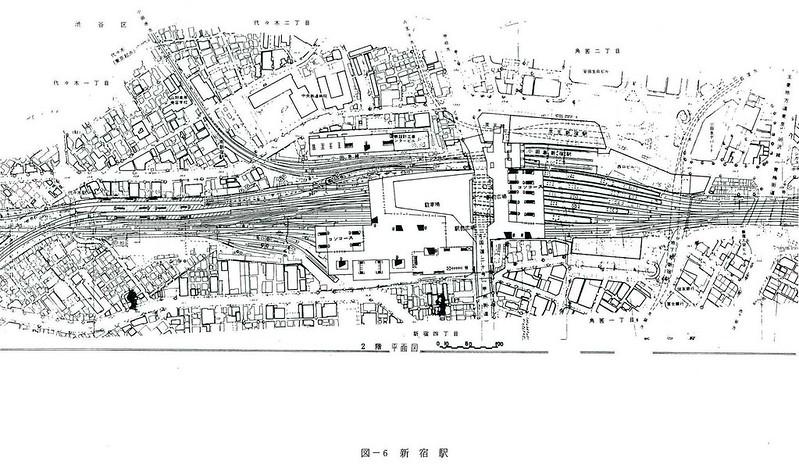 大新宿構想時代の上越新幹線新宿駅地下ホーム (8)