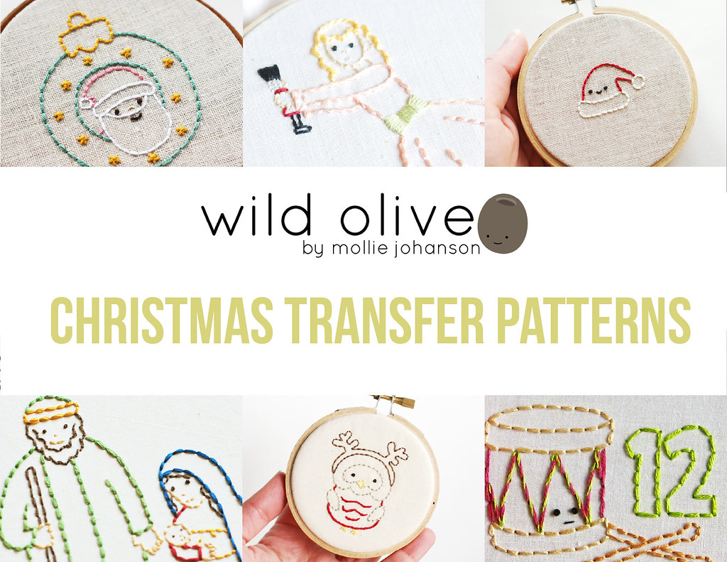 Wild Olive Transfer Patterns