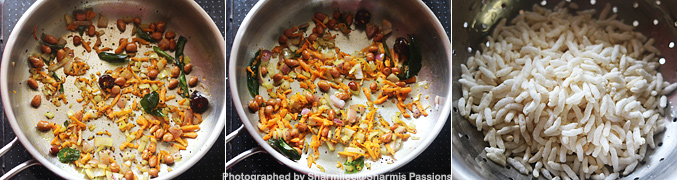 Pori Upma Recipe - Step2