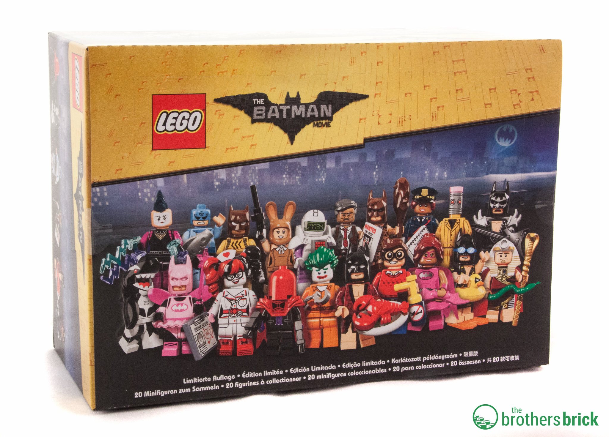 The Lego Batman Movie Collectible Minifigures Feel Guide