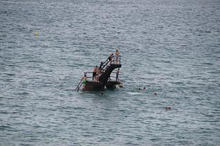 112 Zwemmen in zee