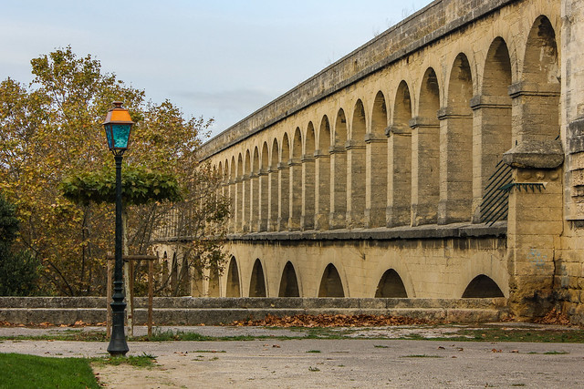 Plaza Real del Peyrou de Montpellier, Francia