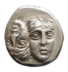 Moesia Inferior. Istros. 400-350 BC Drachma obverse