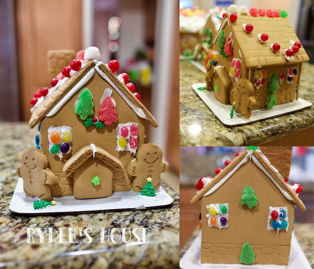 Gingerbread house-R