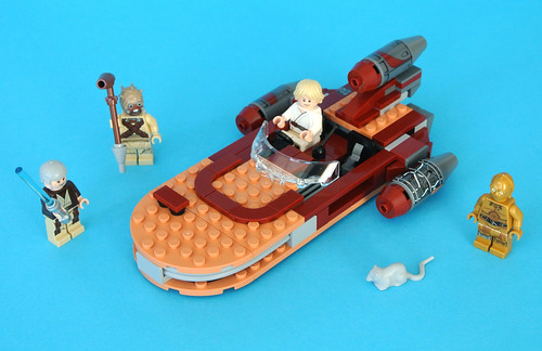 Lego 75173 Star Wars Luke/' s Landspeeder Raumschiff NEU OVP NEW SEALED